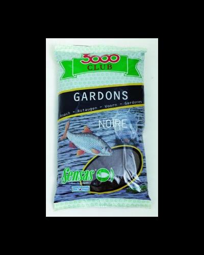 Zanęta Sensas 1kg 3000 Club Gardons Noire