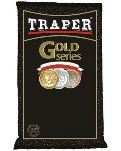 Zanęta Traper Gold 1kg Grand Prix Czarna